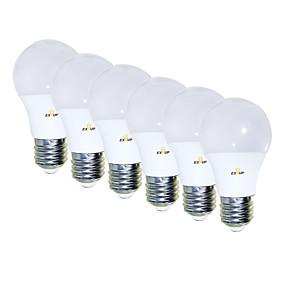 billige Globepærer med LED-EXUP® 6pcs 5 W 450 lm E26 / E27 LED-globepærer 15 LED perler SMD 2835 Kreativ / Bedårende / Kul Varm hvit 85-265 V