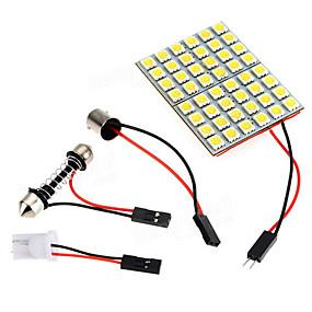 povoljno Svjetlo za registarske tablice-unutrašnjost automobila 5050 48 smd LED svjetlo panelt10festoonba9s dc 12v