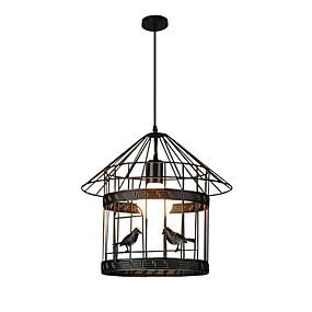 abordables Plafonniers-Lanterne Lampe suspendue Lumière d'ambiance Finitions Peintes Métal Design nouveau 110-120V / 220-240V