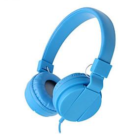 cheap Travel & Entertainment-LITBest Headphones&Headset Wired Headphones Headphone Alumium Alloy / Calf Hair Travel & Entertainment Earphone Comfy Headset