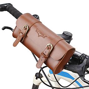 Недорогие Бардачки на руль-B-SOUL 1 L Бардачок на руль Компактность Пригодно для носки Прочный Велосумка/бардачок Кожа PU Велосумка/бардачок Велосумка Велосипедный спорт На открытом воздухе Велоспорт