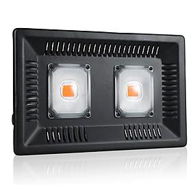 billige LED Økende Lamper-1set 100 W 5000 lm 1 LED perler Fullt Spektrum Lett installasjon For drivhushydroponisk Voksende lysarmatur Lilla 220-240 V 110-120 V Kommersiell