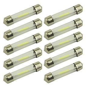 povoljno Svjetlo za registarske tablice-10pcs 41mm / 39mm Automobil Žarulje 1 W COB 80 lm 1 LED Svjetlo za registarske tablice / Žmigavac svjetlo / Svjetla u unutrašnjosti Za Univerzális