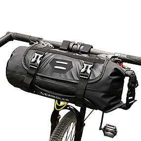 Недорогие Бардачки на руль-ROSWHEEL 3-7 L Бардачок на руль Регулируется Водонепроницаемость Компактный Велосумка/бардачок ТПУ Велосумка/бардачок Велосумка Велосипедный спорт / Со светоотражающими полосками