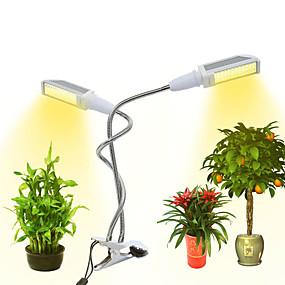 billige LED Økende Lamper-1pc 12 W 300 lm 96 LED perler Fullt Spektrum Voksende lysarmatur Varm Gul 85-265 V