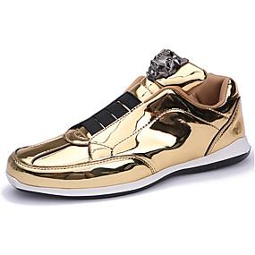 povoljno Muške tenisice-Muškarci Cipele za noviteti Mikrovlakana / PU Proljeće ljeto / Jesen zima Sneakers Zlato / Crn / Pink