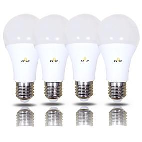 رخيصةأون لمبات LED-EXUP® 15 W مصابيح كروية LED 1400 lm B22 E26 / E27 A70 42 الخرز LED SMD 2835 أبيض دافئ أبيض كول 220-240 V 110-130 V, 4PCS