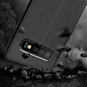 cheap Cellphone Case-Case For Samsung Galaxy Galaxy S10 / Galaxy S10 Plus Shockproof Full Body Cases Solid Colored Soft TPU for S9 / S9 Plus / S8 Plus