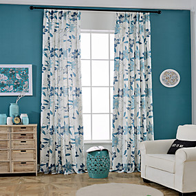 billige Gardiner ogdraperinger-Moderne Blackout Et panel Gardin Stue   Curtains