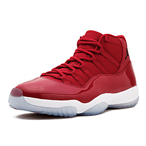 cheap Men's Athletic Shoes-Men's Comfort Shoes Faux Leather Spring & Summer Athletic Shoes Basketball Shoes Light Red