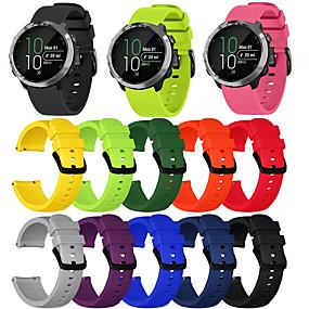 ราคาถูก โทรศัพท์ & อุปกรณ์เสริม-สายนาฬิกา สำหรับ vivomove HR / Vivoactive 3 Garmin สายยางสำหรับเส้นกีฬา ยางทำจากซิลิคอน สายห้อยข้อมือ