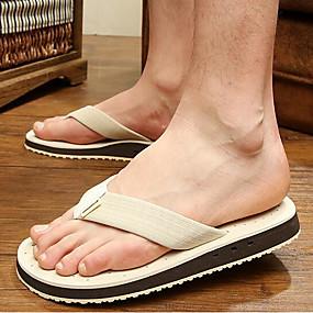 baratos Sandálias e Chinelos Masculinos-Homens Sapatos Confortáveis EVA Verão Chinelos e flip-flops Café / Verde / Azul