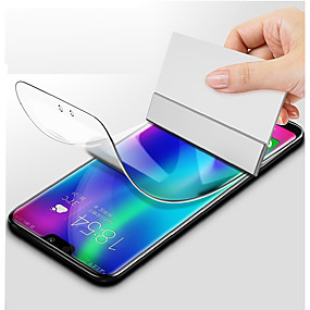 levne Chrániče obrazovky mobilního telefonu-Screen Protector pro Samsung Galaxy S9 / S9 Plus / S8 Plus TPU Hydrogel 1 ks Fólie na displej High Definition (HD) / odolné proti výbuchu / Odolné proti poškrábání