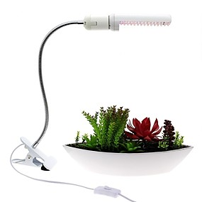 halpa LED-kasvatusvalot-1set 8 W 320 lm 40 LED-helmet Kasvava valaisin