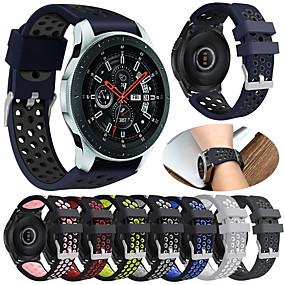 billige Smartwatch Bands-Urrem for Gear S3 Frontier / Gear S3 Classic / Gear S3 Classic LTE Samsung Galaxy Sportsrem Silikone Håndledsrem