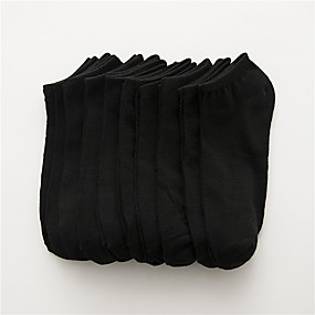 povoljno Čarape-10 parova Muškarci Čarape Jednobojni Dezodorans Pamuk EU36-EU42