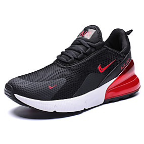 hesapli Erkek Atletik Ayakkabıları-Erkek Ayakkabı Suni Deri İlkbahar yaz Sportif / Çıtı Pıtı Atletik Ayakkabılar Koşu / Yürüyüş Günlük / Dış mekan için Kırmzı / Siyah / Beyaz / Siyah / Kırmızı