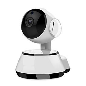halpa IP-verkkokamerat sisäkäyttöön-1.0mp 720p mini wifi langaton tietoturvavalvonta ip-kamera älypuhelimen etävalvonta langaton tuki 64GB tf-kortin liitäntä ja pelata päivän yötä ir-cut etäkäytön liiketunnistus