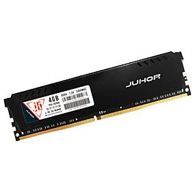 cheap Computer Components-JUHOR RAM 4GB DDR4 2400MHz Desktop Memory DDR4 2400 4G