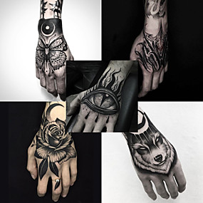 voordelige tattoo stickers-5 pcs Tijdelijke tatoeages Waterbestendig / Beste kwaliteit handen / brachium Tatoeagestickers