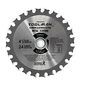 cheap Tools-4-1/2 4.5 24T Circular Saw Blade Finish blade for DeWalt Makita SKIL bosch