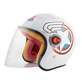 povoljno 30%OFF-Polu-kaciga Djeca Uniseks Motocikl Kaciga Jednostavan dressing / Dijete sigurno Case / Ultra Light (UL)