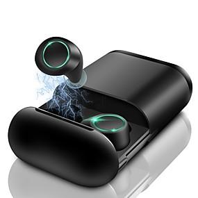 رخيصةأون وصل حديثاً-LITBest S7-2 TWS صحيح سماعة رأس لاسلكية لاسلكي EARBUD بلوتوث 5.0 الرياضة و الخارج