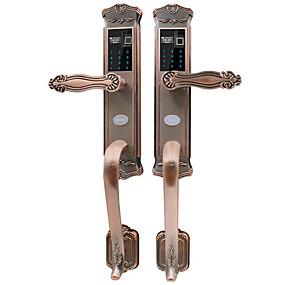 cheap New Arrival-Factory OEM D2 Antique Copper lock / Fingerprint Lock / Intelligent Lock Smart Home Security System Fingerprint unlocking / Password unlocking / APP unlocking Home / Office Security Door (No locks.)