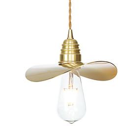 abordables Plafonniers-Lampe suspendue Lumière d'ambiance Laiton Plaqué Cuivre Créatif, Ajustable, Design nouveau 110-120V / 220-240V