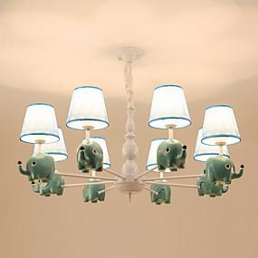 povoljno Kids Room-8 svjetla luster / lijepa prirodna svjetla za dnevni boravak spavaća soba dječja soba vrtić 110-120v / 220-240v / e26 e27 bez žarulje