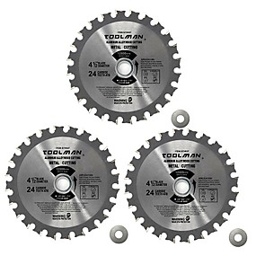 cheap Tools-3pc set 4-1/2 4.5 24T Circular Saw Blade Finish blade fitDeWalt Makita bosch