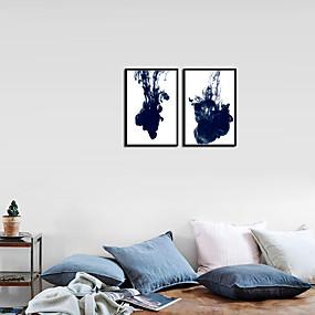 povoljno Trends-Printevi - Sažetak Aluminijska Alloy Oil Painting Wall Art