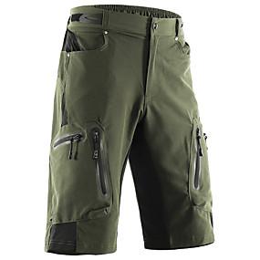povoljno Rasprodaja-Arsuxeo Muškarci Kratke hlače za MTB Bicikl Kratke hlače Vrećaste hlače Kratke hlače za MTB Prozračnost Quick dry Vodootporni patent Sportski Jedna barva Poliester Spandex Tamno siva / Navy Plava