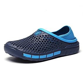 baratos Sapatilhas e Mocassins Masculinos-Homens Sapatos Confortáveis PVC Outono / Primavera Verão Mocassins e Slip-Ons Preto / Cinzento / Azul