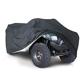 voordelige Autohoezen-all weather bescherming atv cover duurzame waterdichte winddichte uv-bescherming buggy opslag universele pasvorm