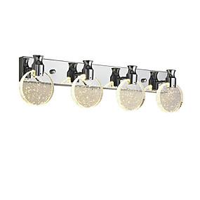 billige Vanity-lamper-QINGMING® Krystall / Mini Stil LED / Traditionel / Klassisk Stue / Leserom / Kontor Metall Vegglampe 110-120V / 220-240V 6 W