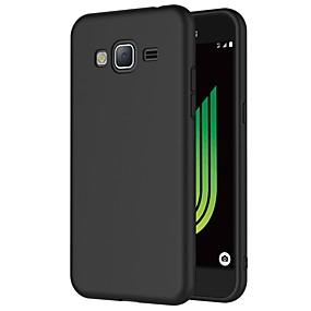 billige Mobiltelefonstilbehør-Etui Til Samsung Galaxy J3 (2016) Stødsikker / Støvsikker / Backup Bagcover Ensfarvet Blødt TPU for J3 (2016)