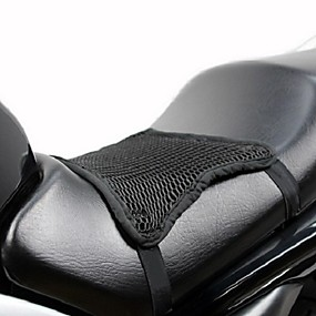 cheap New Arrivals in September-3D Mesh Cool Seat Covers Cushion Heat Sunscreen Breathable Sun Protection Pad Motorcycle Universal