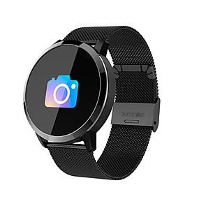 preiswerte Neuheiten-Q8 Männer Frauen Smart-Armband Android iOS Bluetooth Wasserfest Herzschlagmonitor Sport Langes Standby Smart Timer Stoppuhr Anruferinnerung AktivitätenTracker Schlaf-Tracker