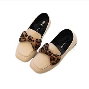 voordelige Damesinstappers & loafers-Dames Loafers & Slip-Ons Lage hak Vierkante Teen Polyester Lente Zwart / Leger Groen