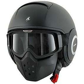 billige Nyankomne i august-hai med fullt ansikt voksne unisex motorsykkelhjelm anti-tåke / ripebestandig / slitasje