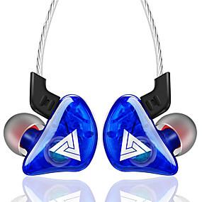 povoljno Žičane slušalice koje se stavljaju u uho-qkz ck5 u uho žičane slušalice slušalice silikagel slušalice stereo slušalice