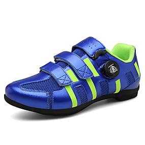 baratos Sapatos Esportivos Femininos-Mulheres Tênis Salto Plataforma Dedo Aberto Pele Aventura / Caminhada Verão Fúcsia / Vermelho / Azul Real