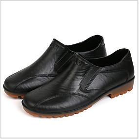 baratos Sapatilhas e Mocassins Masculinos-Homens Sapatos Confortáveis PVC Verão Mocassins e Slip-Ons À Prova-de-Água Preto