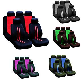 abordables 50%OFF-9pcs / set housse de siège de voiture universel quatre saisons décoration de protecteur de couverture de siège complet