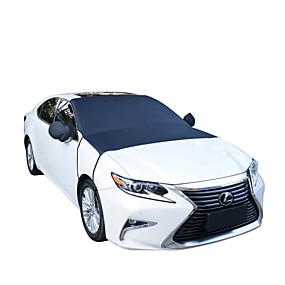 voordelige Autohoezen-205 * 150cm auto half windscherm zon sneeuw ijs vorst wind winter beschermer hoes