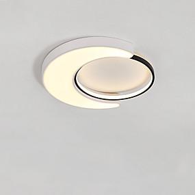 billige Nyheter-CONTRACTED LED® geometriske / Originale Skyllmonteringslys Nedlys Malte Finishes Metall LED, Nytt Design 110-120V / 220-240V Varm Hvit / Kald Hvit