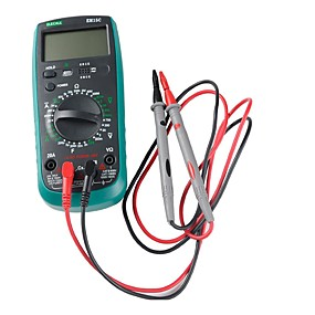billige Nyankomne i oktober-1000v 10a hardpoeng testledninger satt med komfortable gripemåler sonder for håndholdt digitalt multimeter