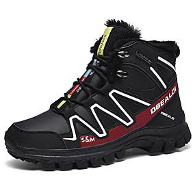 baratos Tênis Masculino-Homens Sapatos Confortáveis Lona Inverno / Outono & inverno Esportivo / Casual Tênis Corrida / Fitness Respirável Preto / Vermelho / Black / azul / Vermelho