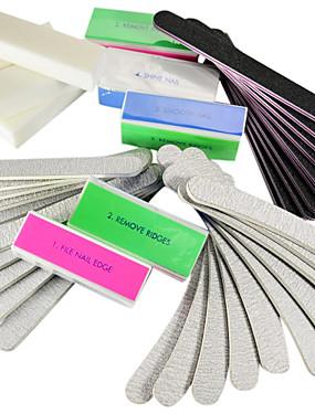 voordelige Nagelvijlen & Buffers-40PCS Nail Art-bestanden en buffers Nail Art Tool Nail Art Kit Voor Vingernagel Teennagel Ministijl Nagel kunst Manicure pedicure Eenvoudig / Accessoires / Klassiek Dagelijks